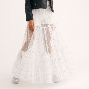 Free People New way to Shine skirt. NWT